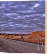 Lick Skillet Road Wood Print