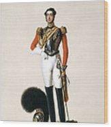 Lieutenant Thomas Myddleton Biddulph Wood Print by Alexandre-Jean Dubois Drahonet