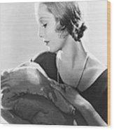 Life Begins, Loretta Young, 1932 Wood Print