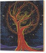 Life Blood Tree By Jrr Wood Print
