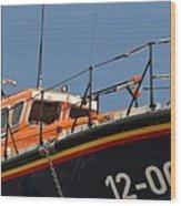 Life Boat Wood Print