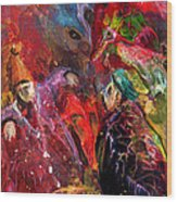 Life Is A Carnival 02 Wood Print
