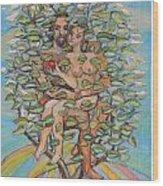 Life Tree Wood Print