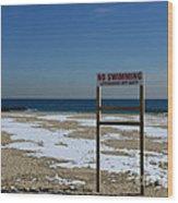 Lifeguard Off Duty Wood Print