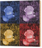 Life's Colors Wood Print