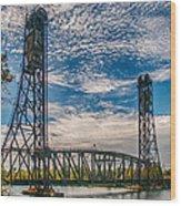 Lift Bridge 3d21789 Wood Print