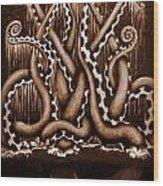 Lift Me Up - Vintage Edit Wood Print