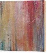 Lifted Spirits Wood Print by Debi Starr