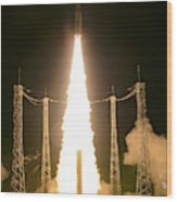 Liftoff Of Vega Vv06 With Lisa Wood Print