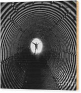 Light At The End Of The Tunnel? Wood Print