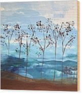 Light Breeze Wood Print