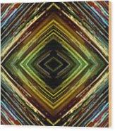 Light Design Six Wood Print