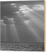 Light From Heaven Wood Print