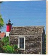 Light House Wood Print