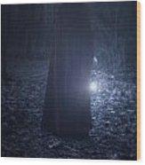 Light In The Dark Wood Print by Joana Kruse