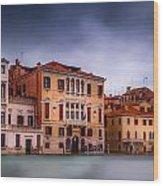 Light In Venice Wood Print