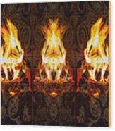 Light My Fire Wood Print