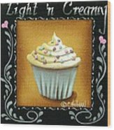 Light 'n Creamy Wood Print