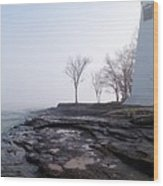 Light On Erie Wood Print
