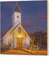 Light Painting 6 Wood Print
