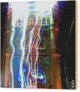 Light Play On Tower Bridge Wood Print