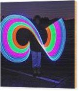 Light Player Wood Print