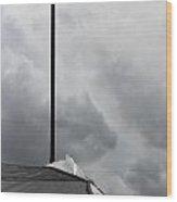 Light Pole Wood Print