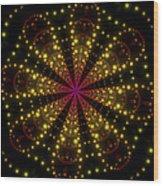 Light Show Abstract 3 Wood Print