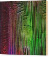 light Show Wood Print
