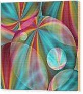 Light Spectrum 2 Wood Print