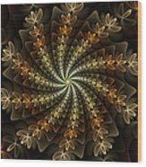 Light Spiral Wood Print