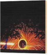 Light Zoiders Wood Print