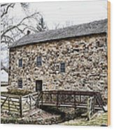 Lightfoot Mill At Anselma Chester County Wood Print