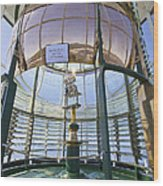 Lighthouse First Order Fresnel Lens Wood Print