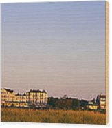 Lighthouse In A Town, Edgartown Wood Print