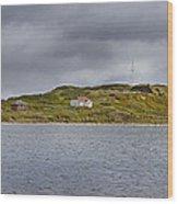 Lighthouse Island Wood Print
