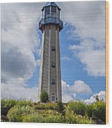 Lighthouse Island II Wood Print