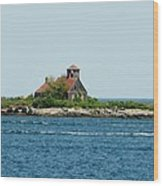 Lighthouse Keepers Residence Wood Print
