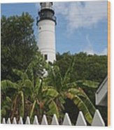 A Sailoirs Guide On The Florida Keys Wood Print