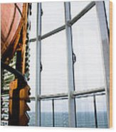 Lighthouse Lens Wood Print