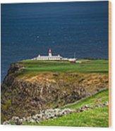 Lighthouse Ponta Do Albernaz Wood Print