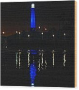 Lighthouse San Pedro Bay Wood Print