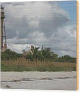Sanibel Island Light Wood Print