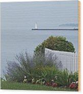 Lighthouse Sodus Bay New York Wood Print