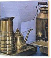 Lightkeepers Equipment Wood Print