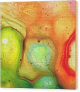 Lightness Of Being Abstract Art By Sharon Cummings Wood Print