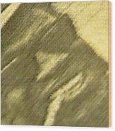 Lightnin' Wood Print