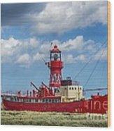 Lightship Lv15 Trinity 2 Wood Print