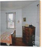Ligthouse Bedroom At Drum Point Wood Print