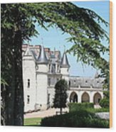 Like A Fairytale - Chateau Amboise Wood Print